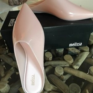 MELISSA She Light Pink Scented Pointed Toe Mule